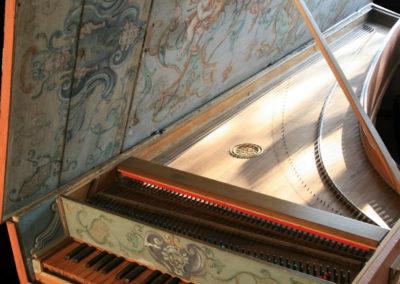 Giovanni Baptista Giusti Harpsichord Lucca 1680