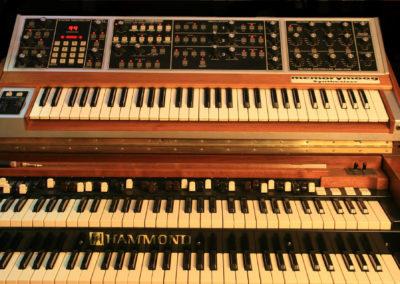 Hammond B3 1968 & Moog Memorymoog plus 1984