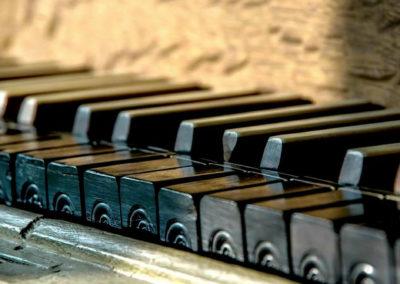 Orgelpositiv Arkaden 1740