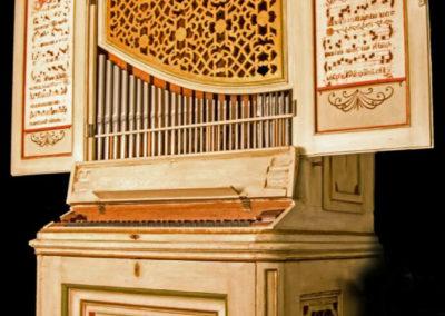 Orgelpositiv Süddeutschland 1740