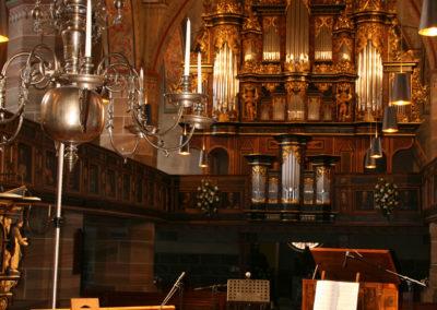 Orgeltage Schöningen 2016 Ausstattung mit histor.Originalinstrumenten