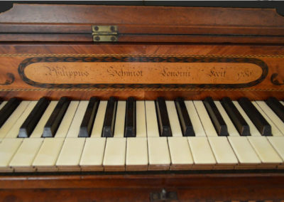 Phillipus Schmidt SquarePiano London 1780