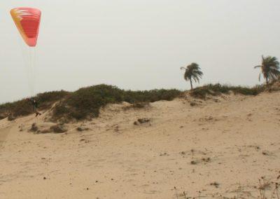 Senegal Westafrika Starkwindstart