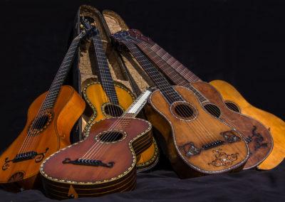 historische Gitarren ab 1790