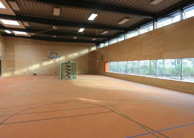 multifunktionale Sporthalle
