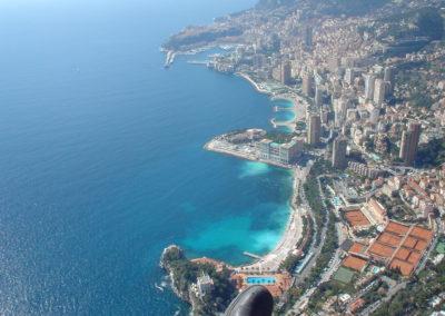 über Monaco
