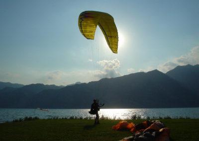 unser Kanzler heisst Beaufort...Landeplatz Gardasee